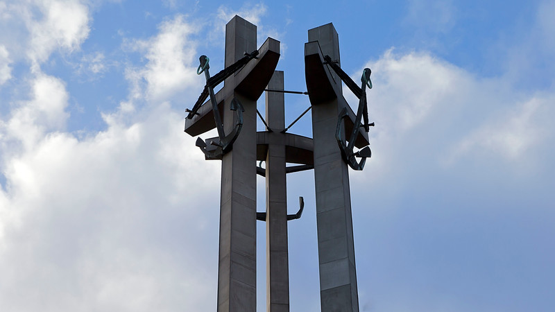 Monument of the Fallen Shipyard Workers Gdansk, Poland