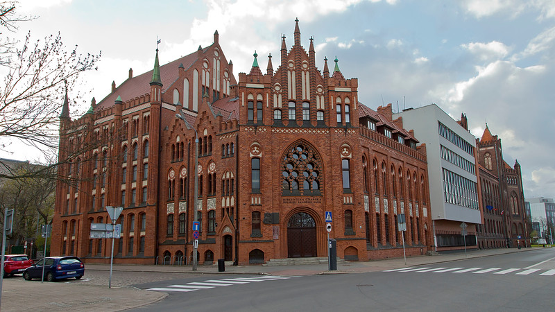 Library Gdansk, Poland