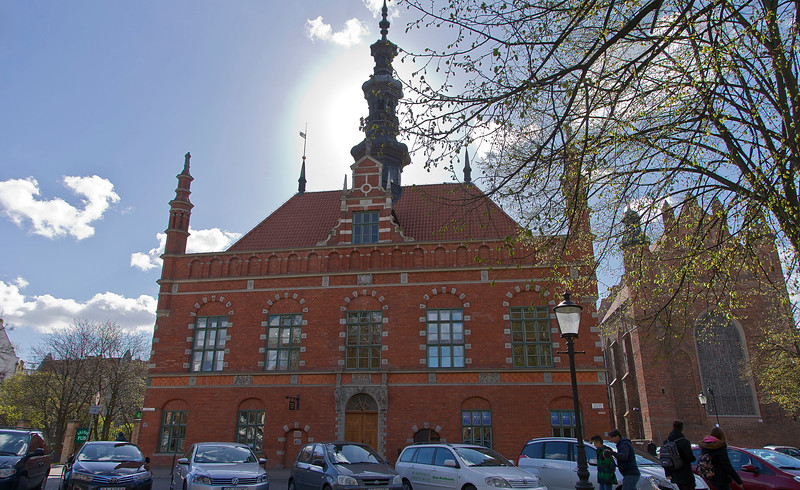 Old-Town City hall Gdansk, Poland