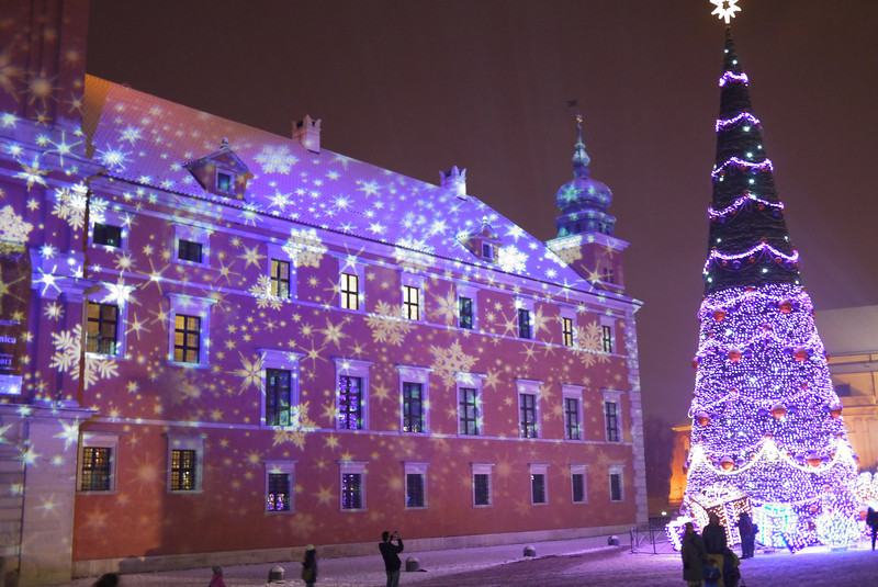 Wednesday Photo Nights #9 : At night in the Warsaw Christmas ...