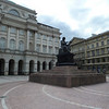 Copernicus statue in front of Academy of Science