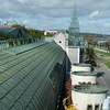 Warsaw University Library has garden on roof