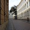 ul.Kapitulna, The street beside our apartment looking toward Miadowa