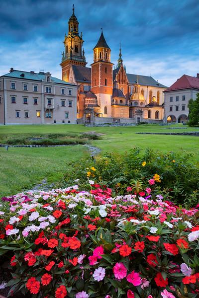 Wawel Castle, Krakow.