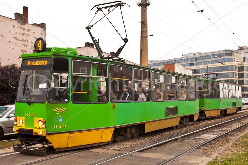 Poznan tram