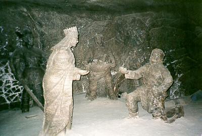 Salt mines -- Krakow, Poland