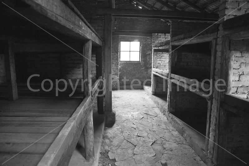 Birkenau Concentration Camp Prisoner Barracks