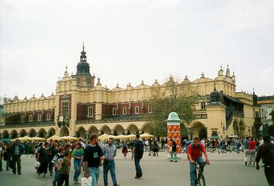 Market Square -- Krakow, Poland