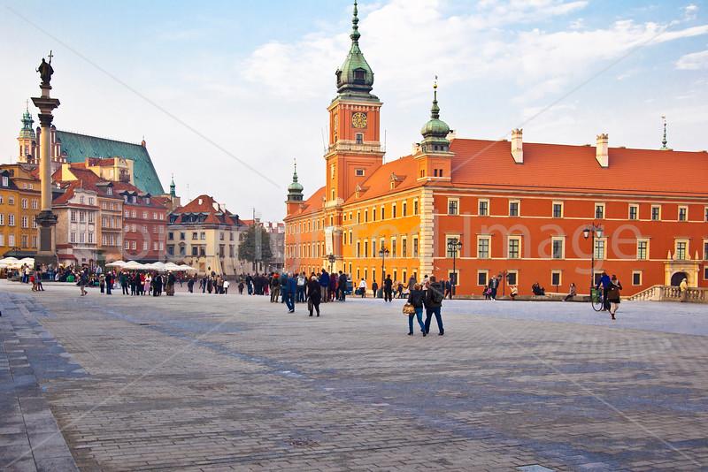 Royal Palace and Square