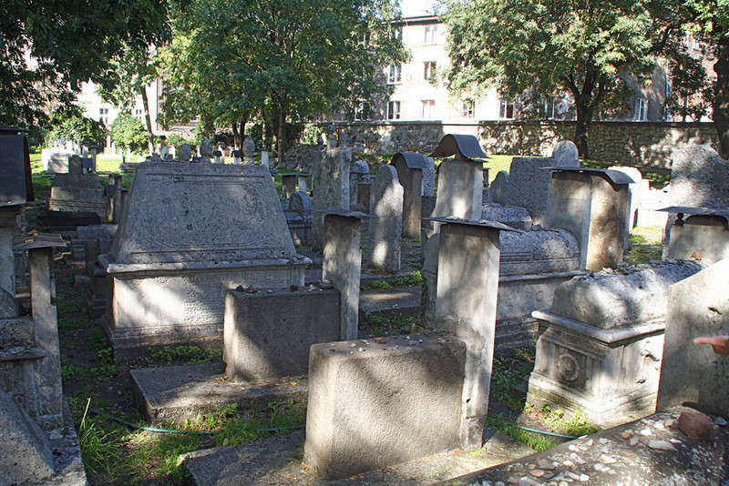 The old cemetry of Krakow