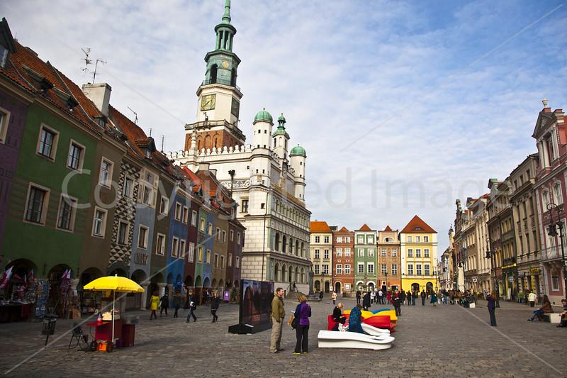 Old Market Square Poznan
