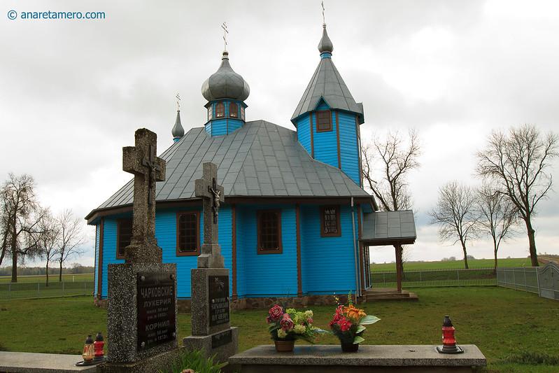 The orthodox church in Szastaly