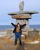 "Natural Habitat Polar Bears Tour, Churchill, Manitoba, Canada-Nov 2016.  Iinuit Inuksuk stone monument.  <br /> <a href=""https://en.wikipedia.org/wiki/Inuksuk"">https://en.wikipedia.org/wiki/Inuksuk</a><br /> <a href=""http://www.everythingchurchill.com/about-churchill/town-of-churchill/"">http://www.everythingchurchill.com/about-churchill/town-of-churchill/</a><br /> <a href=""https://goo.gl/Z0UnWf"">https://goo.gl/Z0UnWf</a>"