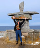 "Natural Habitat Polar Bears Tour, Churchill, Manitoba, Canada-Nov 2016.  Iinuit Inuksuk stone monument.  <br /> <a href=""https://en.wikipedia.org/wiki/Inuksuk"">https://en.wikipedia.org/wiki/Inuksuk</a><br /> <a href=""http://www.everythingchurchill.com/about-churchill/town-of-churchill/"">http://www.everythingchurchill.com/about-churchill/town-of-churchill/</a><br /> <a href=""https://goo.gl/Z0UnWf"">https://goo.gl/Z0UnWf</a>"