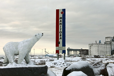 The Port of Churchill, Manitoba, Canada's northern most seaport