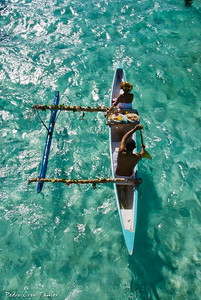 Breakfast coming,Bora-Bora,Society Islands,French Polinesia