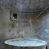 Inside a bath house at the Pompeii ruins in Italy.