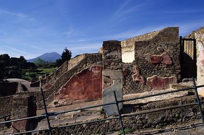 Entrance gates of Pompeii