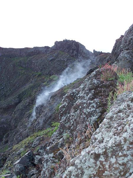 Steam from Vesuvio