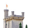 A tower in Uzes - the castle of the Duke of Uzes - one of 20 French dukes.