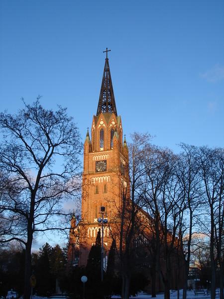 Pori, Finland  (March 2018) - Central Pori Church