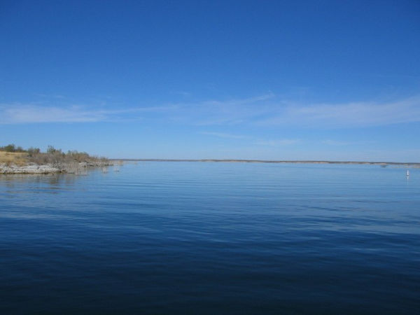I was surprised to learn that this lake is a favorite with the Texas SCUBA divers.