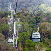 Skyrail rainforest cableway at Barron Gorge National Park in Queensland, Australia.