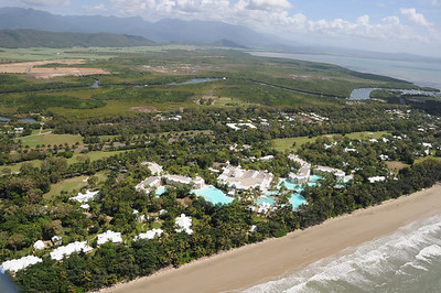 Sheraton Mirage along 4 Mile Beach in Port Douglas