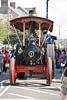 "An old steam showmans engine displayed at the ""Country Comes to Town"" event in Portadown, Northern Ireland."