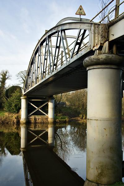 Bonds Bridge over the river Blackwater near Coalisland, Northern Ireland.