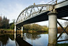 Bonds Bridge spanning the River Blackwater near Coalisland, Northern Ireland.