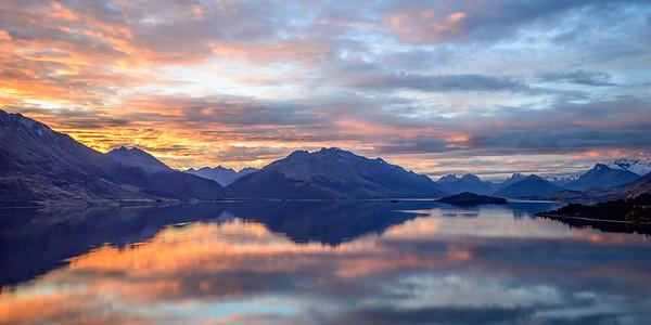 Glenorchy Sunset Reflections