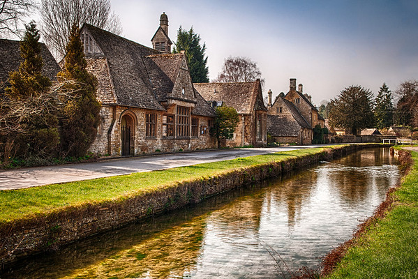 Lower Slaughter Village, Cotswolds