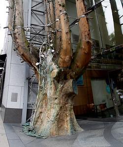 Judy Pfaff's Ya-Wa Tree sculpture