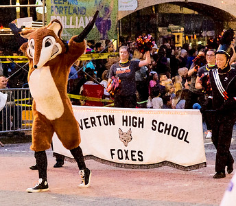 The Overton High School Foxes (dry brush)