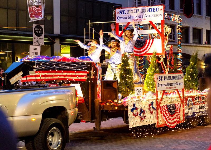 St. Paul Rodeo float
