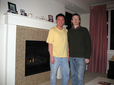 Billy and Mark at Mrs Chou's New Apartment