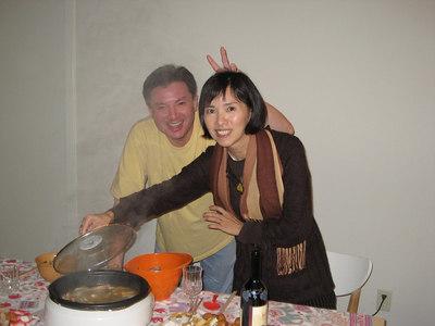 Hot pot for Thanks Giving dinner