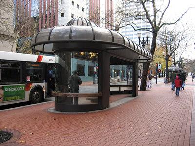 bus station of Portland