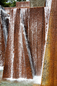 Detail of Keller Fountain.