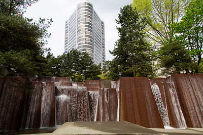 Keller Fountain in downtown Portland.