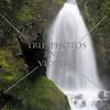 The Wahkeena Falls in Portland, Oregon.