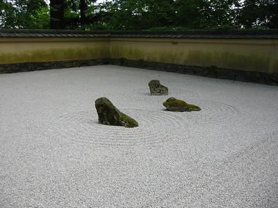 Japanese garden - Zen garden