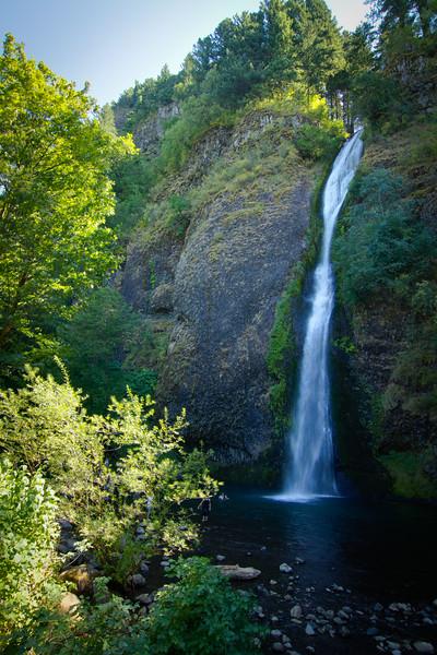 Horsetail Falls, multiple exposures enfused