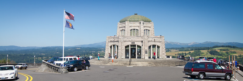 The Observatory Point for the Columbia River Gorge