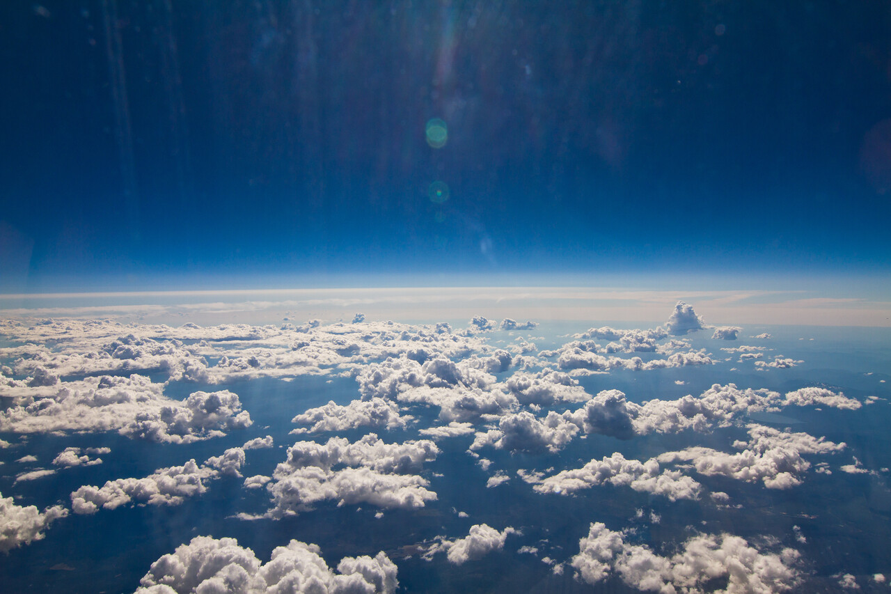 Clouds over Oregon