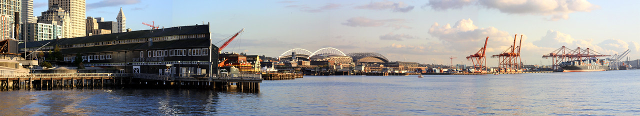 Seattle's waterfront skyline