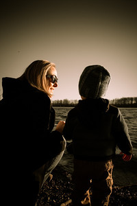 a nice evening with Mom