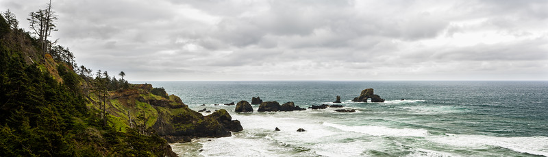 Ecola State Park in May