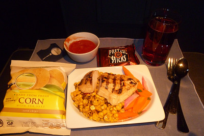 airplane food 1st class?